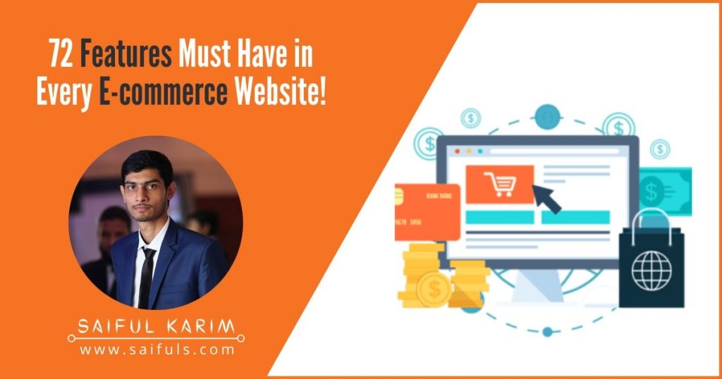 72 Features Must Have in Every E-commerce Website